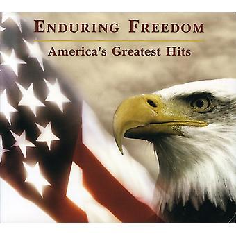 Aguantando la Greatest Hits de libertad-América - libertad duradera: importación de Greatest Hits [CD] Estados Unidos de América