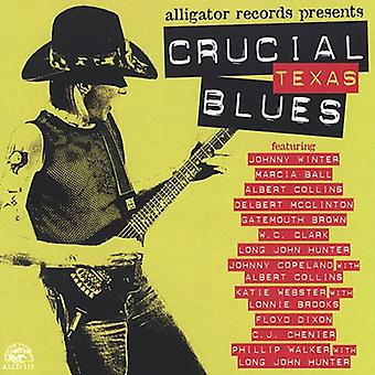 Crucial Texas Blues - Crucial Blues de Texas [CD] USA importar