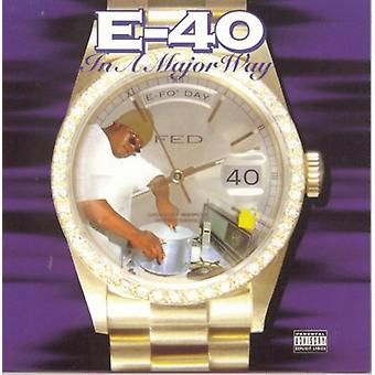 E-40 - In a Major Way [CD] USA import
