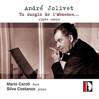 A. Jolivet - Andr  Jolivet: Tu Surgis De L'Absence... [CD] USA import