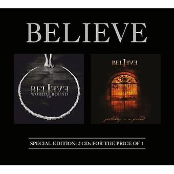 Believe - World Is Round/Yesterday Is a Friend [CD] USA import