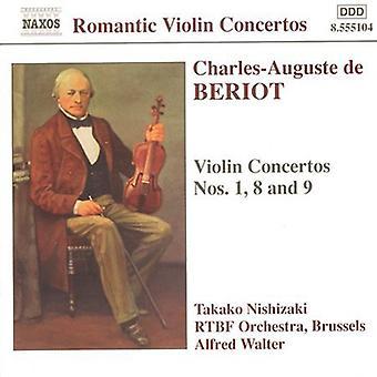 C. Beriot - Charles-Auguste De Beriot: Violinkonzerte [CD] USA import