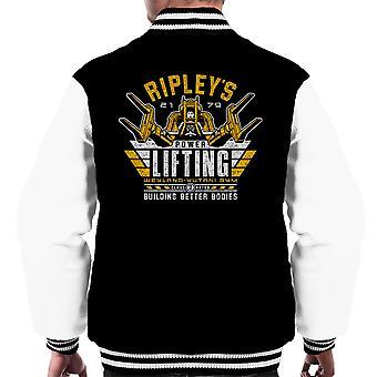 Building Better Bodies Alien Men's Varsity Jacket