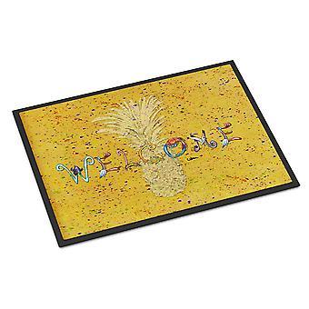 Carolines skarby 8557 JMAT ananas wewnątrz lub na zewnątrz Mat 24 x 36 8557 Doorm