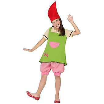 Kinder Kostüme Mädchen Kobold Girl Kostüm