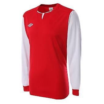 Umbro Aston LS equipación camiseta (luz (roja)