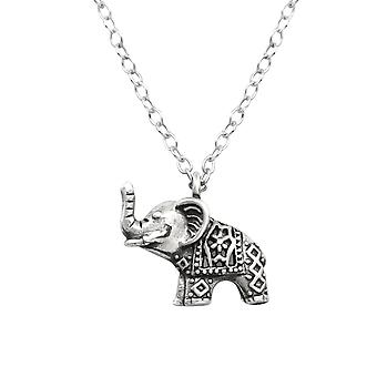 Elephant - 925 Sterling Silver Plain Necklaces - W32253x