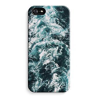iPhone 5C koko Tulosta tapauksessa (kiiltävä) - aalto
