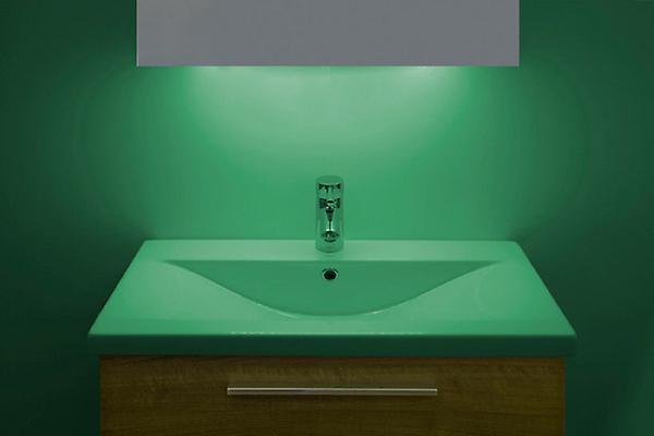 LED Ambient Bathroom Cabinet With Sensor & Shaver Socket k260W
