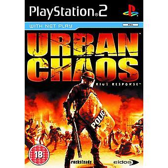 Urban Chaos Riot Response (PS2) - Ny fabrik förseglade