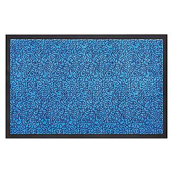 Dirt trapping mats floor mat door mats floor mat smart blue
