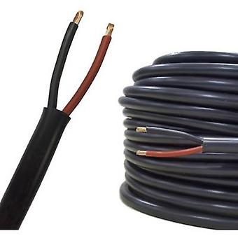 AIV 23312A Speaker cable FLRYY 2 x 0.75 mm² Red, Black Sold by the metre
