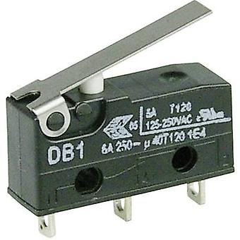 ZF Microswitch DB1C-A1LB 250 V AC 6 A 1 x On/(On) momentary 1 pc(s)