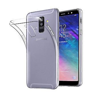 Samsung Galaxy A6 + plus 2018 avoin asia kattaa silikoni