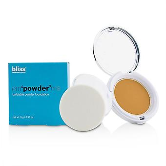 Bliss Em'powder' Me Buildable Powder Foundation - # Bronze - 9g/0.31oz