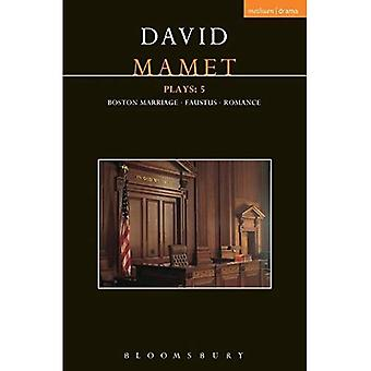 Mamet Plays: 5 (Contemporary Dramatists)