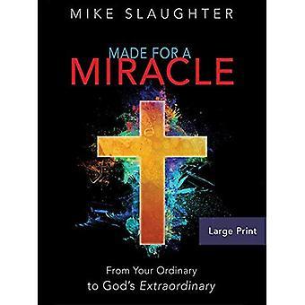 Faites un miracle [gros caractères]: de votre ordinaire à extraordinaire de Dieu