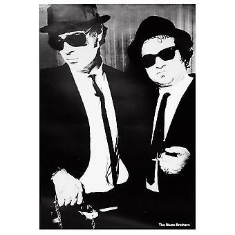 Blues Brothers poster film scène staande - b & w (HF) 100 x 70 cm
