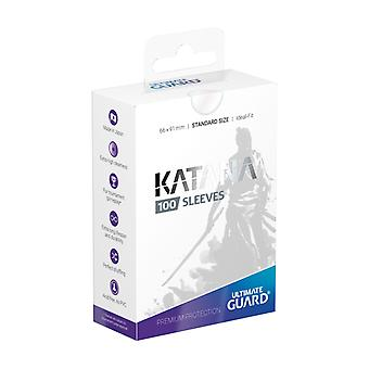 Ultimate Guard Katana sleeves standaard formaat transparant 100-pack