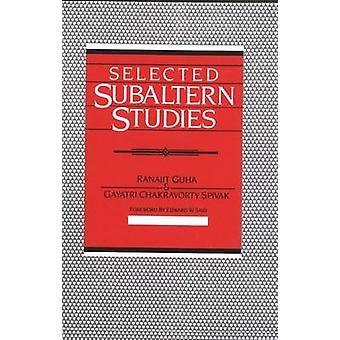 Ausgewählten Subaltern Studies von Guha & zunächst