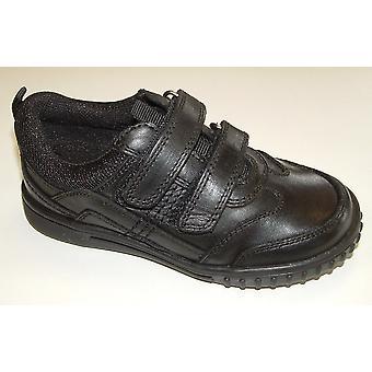 Hush Puppies jongens Lionfish School schoenen zwart F montage