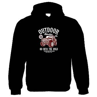 Outdoor Adventure Jeep Hoodie   4x4 Jeep Dirty Scramble Muddy Wet Go Anywhere    Car Pickup Bike Truck Rally Sports SUV Off-road    Pop Culture Gift Him Her