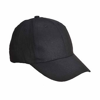 sUw - Six Panel Baseball Cap Black Regular