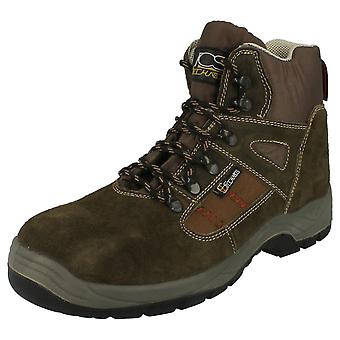 Mens Technics Steel Toe Cap Safety Boots 'H14027'