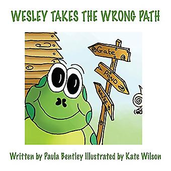 Wesley Takes the Wrong Path by Paula Bentley - 9781786232250 Book