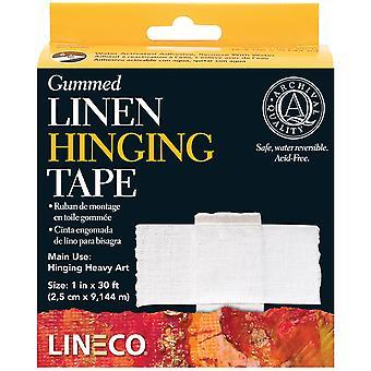 Lineco Gummed Linen Hinging Tape-1