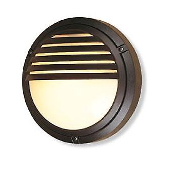 Erstlicht-1 Light Wall Light-100W Black IP54-V405BK
