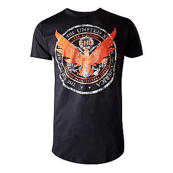 The Division SHD Emblem Mens T-Shirt Small Black (TS425364CGR-S)