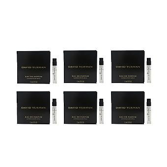 David Yurman For Women Eau De Parfum 0.05oz/2ml Spray New (Pack of 6)