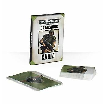 Games Workshop - Warhammer 40,000 - Datacards: Cadia