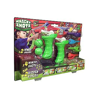Whacky Shots World Warriors Battle Pack