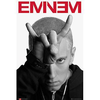 Eminem cornes Maxi Poster 61x91.5cm