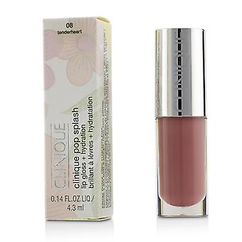 Clinique Pop Splash Lipgloss + Hydratation - # 08-Tenderheart-4.3ml/0.14oz