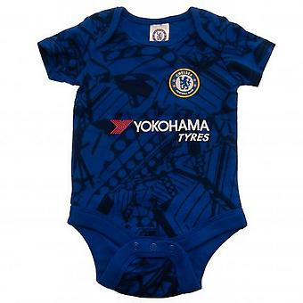 Chelsea FC Unisex Baby Body (Packung mit 2)