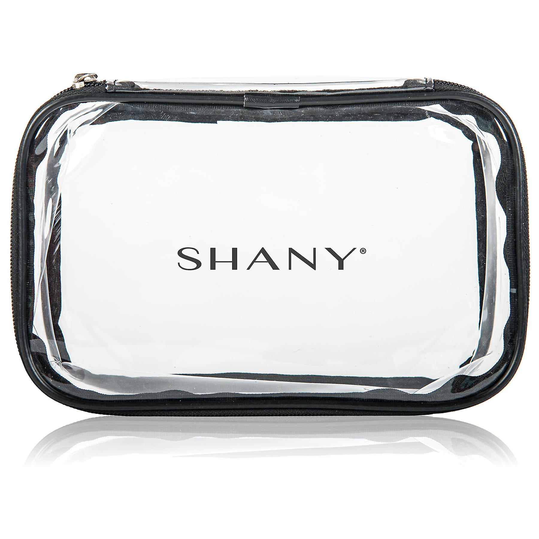 SHANY Slumber Party Cosmetics Clear Travel Bag - Waterproof Multi-use Makeup , Nail and Travel Storage - 1 Count