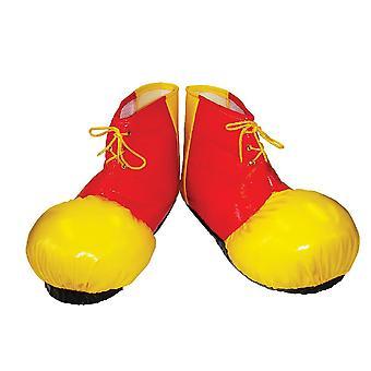 Bristol Novelty Unisex Adults Clown Shoe Covers