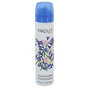 English bluebell body spray by yardley london 543953 77 ml
