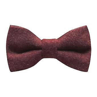 Laço de luxo marrom Tweed vermelho de Donegal