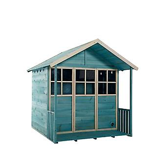 Plum Deckhouse In legno Playhouse Teal