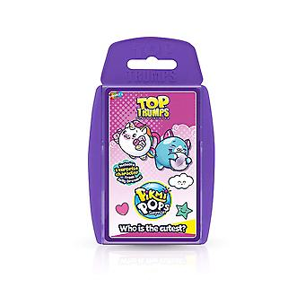 Top Trumps Pikmi Pops Card Game
