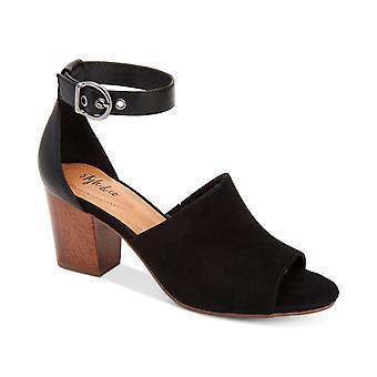 Stijl & Co. Womens Priyaa Peep Toe Casual enkel riem sandalen