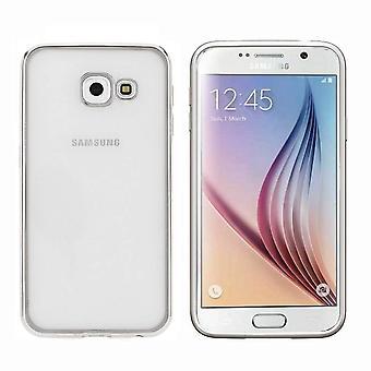 Samsung A3 2016 Silver Case - Bumper Backcover Clear
