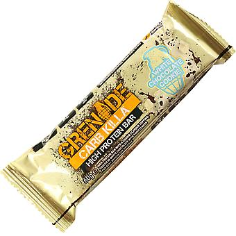 3 x Individual Grenade 60g White Chocolate Cookie Carb Killa Bars
