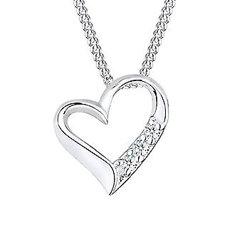 Diamore Silver Necklace 925 with Pendant to Woman's Heart