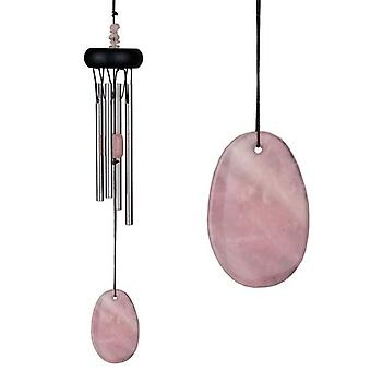 Rose Quartz Precious Stone Wind Chime from Woodstock