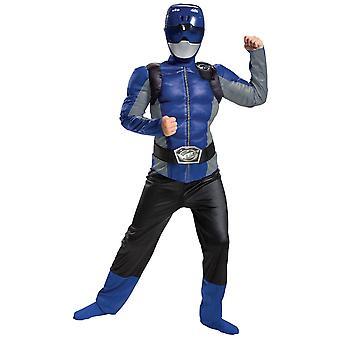 Boys Blue Ranger Costume - Power Rangers